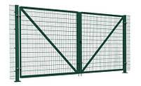 Ворота распашные  - каркас 3000х1600, фото 5