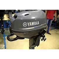 Лодочный мотор YAMAHA F5 AMHS - подвесной мотор для яхт и рыбацких лодок, фото 2