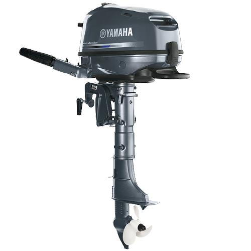 Двигун для човна Yamaha, 5 лс, 4 тактний, F5 AMHS - підвісний двигун для яхт і рибальських човнів