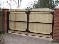 Ворота распашные  - каркас 3000х1600, фото 6