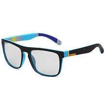 """Фотохромні окуляри """"WarBLade"""" C-W526 Синій+Чорний"""