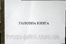 Книга главная (А4 100л газ)