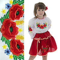 """Вышиваночка детская """"Веснянка"""" 134  рост"""