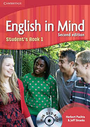 English in Mind 2nd Edition 1 Student's Book + DVD-ROM