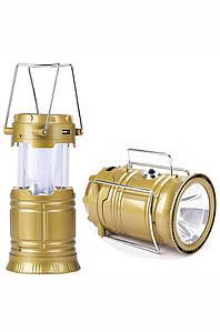 Кемпинговая LED лампа 6+1 LED SX-5800T c USB 132211P