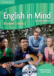 English in Mind 2nd Edition 2 Student's Book + DVD-ROM