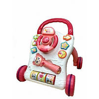 Каталка-ходунки для обучения ходьбе и развития ребенка.