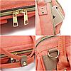 Рюкзак-органайзер, сумка для мамы Новелла TNXB с крючками крепления к ручке коляски, Детские сумки для мам, фото 9