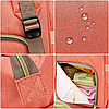 Рюкзак-органайзер, сумка для мамы Новелла TNXB с крючками крепления к ручке коляски, Детские сумки для мам, фото 10