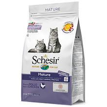 Сухий корм для кішок Шезир Schesir Cat Mature 1,5 кг