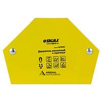 Магніт для зварювання трапеція [11 кг] SIGMA 4270341