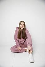 Женский утепленный спортивный костюм с худди и джоггеров, костюм спортивний