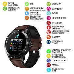 Розумні смарт годинник Modfit K15 Brown-Black