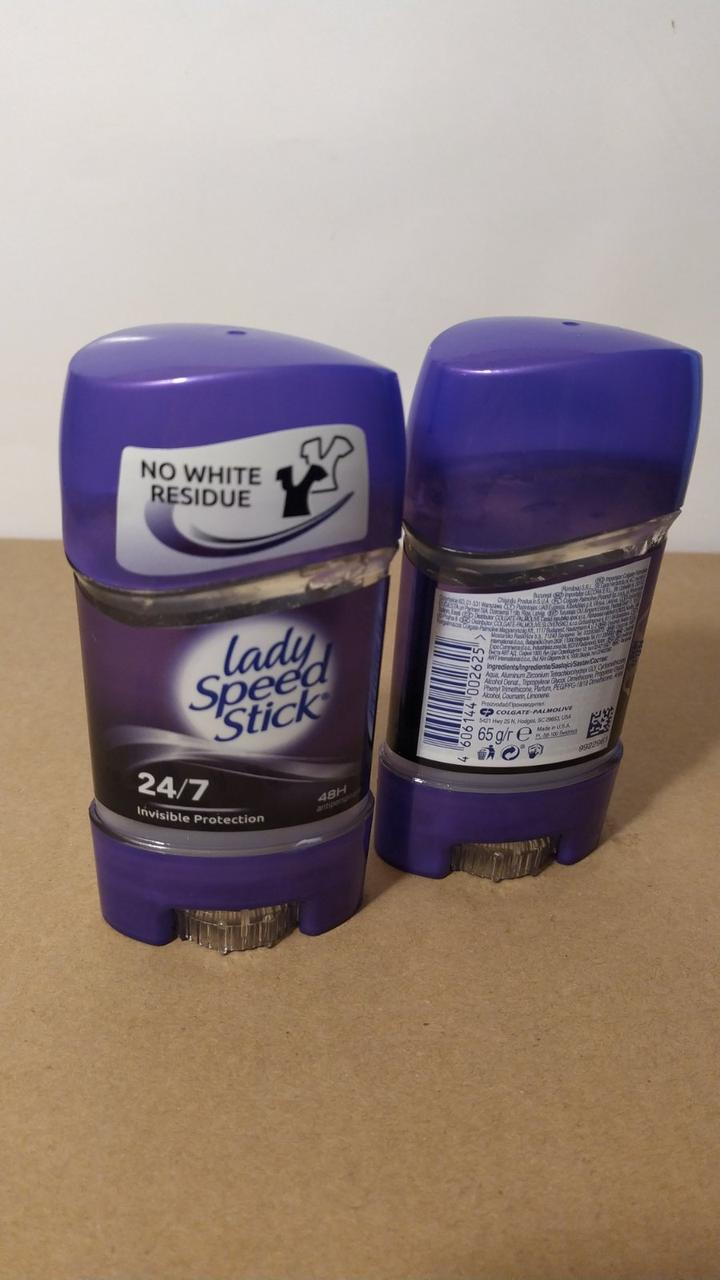 Гелевий дезодорант Lady Speed Stick No White Residue