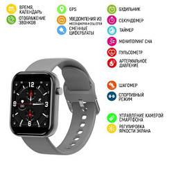 Розумні смарт годинник Modfit ZL11 Gray-Black