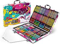 Крайола набор для творчества в чемодане 140 предметов кейс Crayola Inspiration Art Case