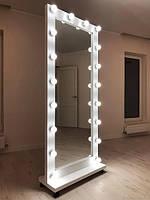 Зеркало с подсветкой гримерноё с LED подсветкой