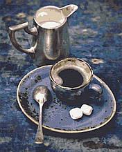Картина по номерам натюрморт 40х50 Люблю кофе