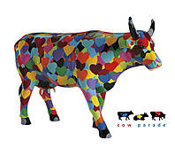 Колекційна статуетка корова Heartstanding Cow, Size L