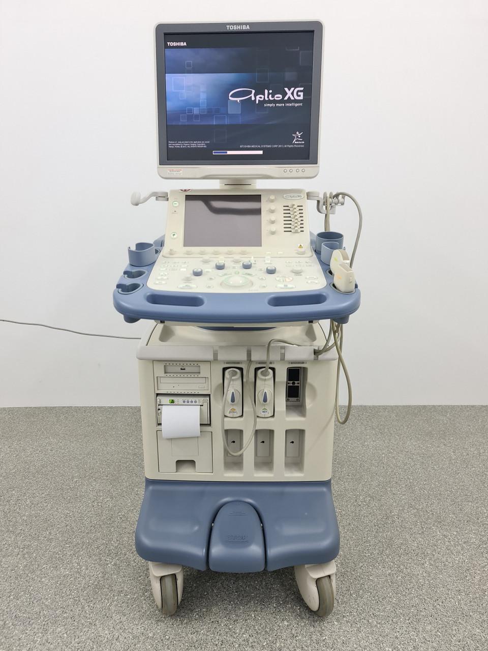 УЗД апарат Toshiba Aplio XG (SSA-790A) + 3 датчика