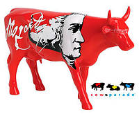 """Колекційна статуетка корова """"Moozart"""", Size L"""