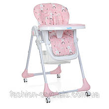 Стульчик для кормления М 3233 Rabbit Girl Pink