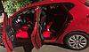 Cветодиодная RGB лента для подсветки салона автомобиля с пультом ДУ 4 шт по 18 лед ELITE LUX EL-1228, фото 3