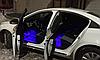 Cветодиодная RGB лента для подсветки салона автомобиля с пультом ДУ 4 шт по 18 лед ELITE LUX EL-1228, фото 4