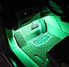Cветодиодная RGB лента для подсветки салона автомобиля с пультом ДУ 4 шт по 18 лед ELITE LUX EL-1228, фото 5