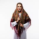 Українська хустка з тороками 120х120см, фото 4