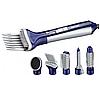 Професійний фен для укладання волосся з насадками 6 В 1 GM-4834 повітряний стайлер, фото 2