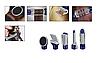 Професійний фен для укладання волосся з насадками 6 В 1 GM-4834 повітряний стайлер, фото 5