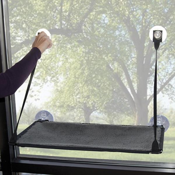 K & H Ez Mount Window Kitty Sill спальне місце на вікно для котів