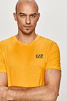 Мужская футболка EA7 Emporio Armani, желтая армани