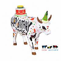 Колекційна статуетка корова Happy Birthday, Size L