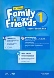 Family and Friends 2nd Edition 1 Teacher's Book Plus + CD-ROM + Audio CD