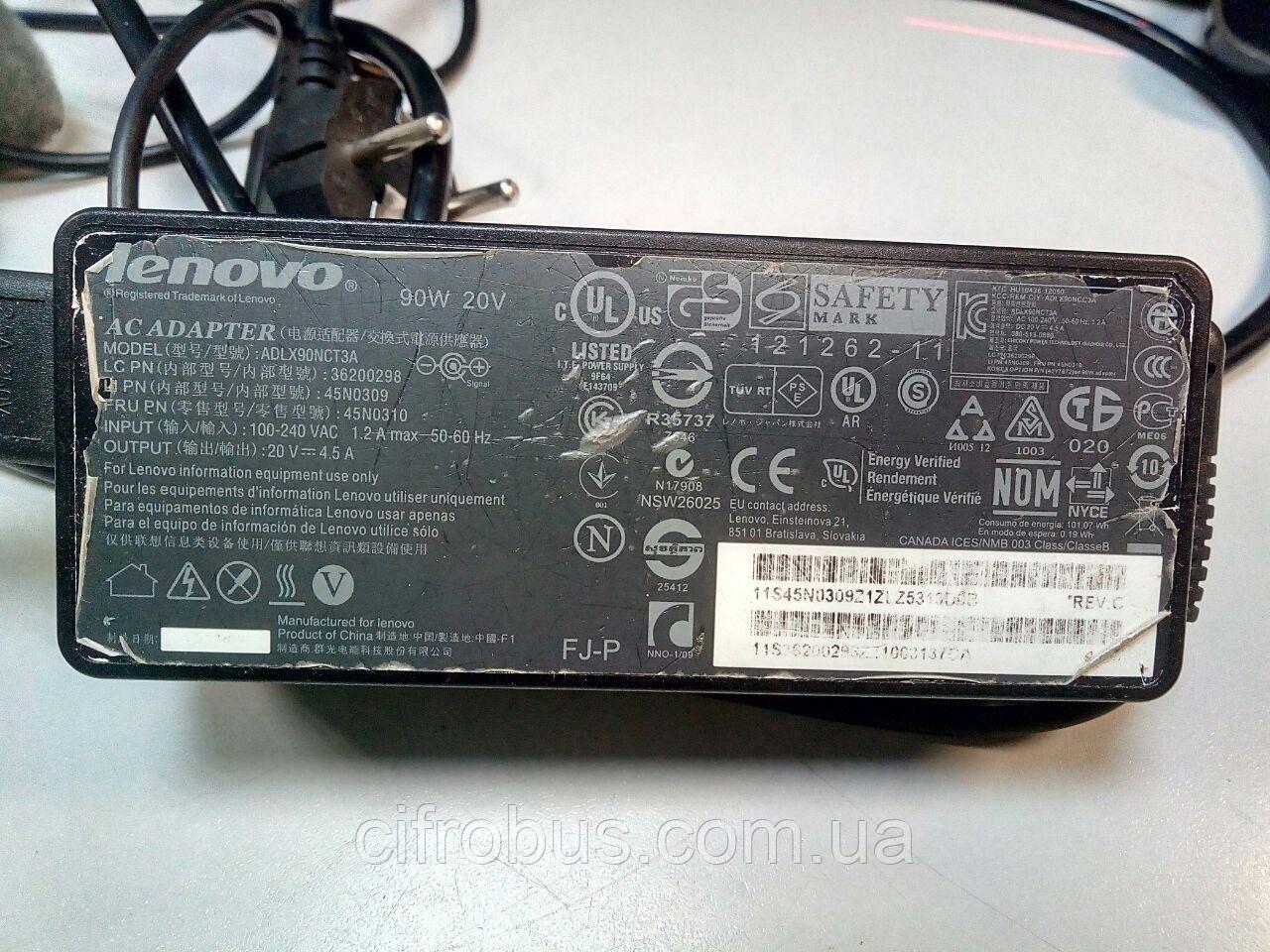 Блоки питания для бытовой техники Б/У Блок питания для ноутбука Lenovo