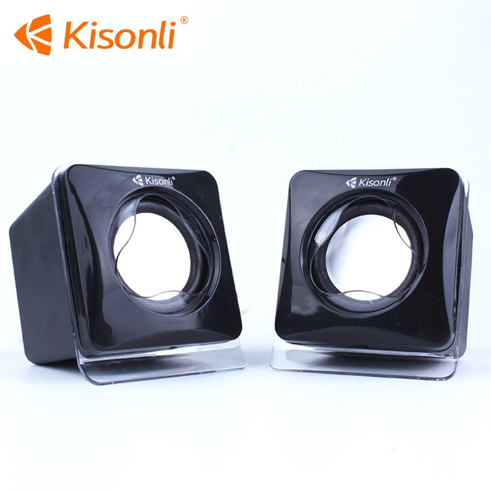 Колонки Потужні Kisonli V410 для ПК USB Сабвуфер