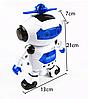 Танцующий светящийся робот Dancing Robot | Детская игрушка музыкальный робот, фото 2