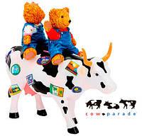 Колекційна статуетка корова Teddy Bears on the Moove, Size M