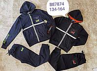 Трикотажный костюм 2 в 1 для мальчика оптом, Grace, 134-164 см,  № B87874