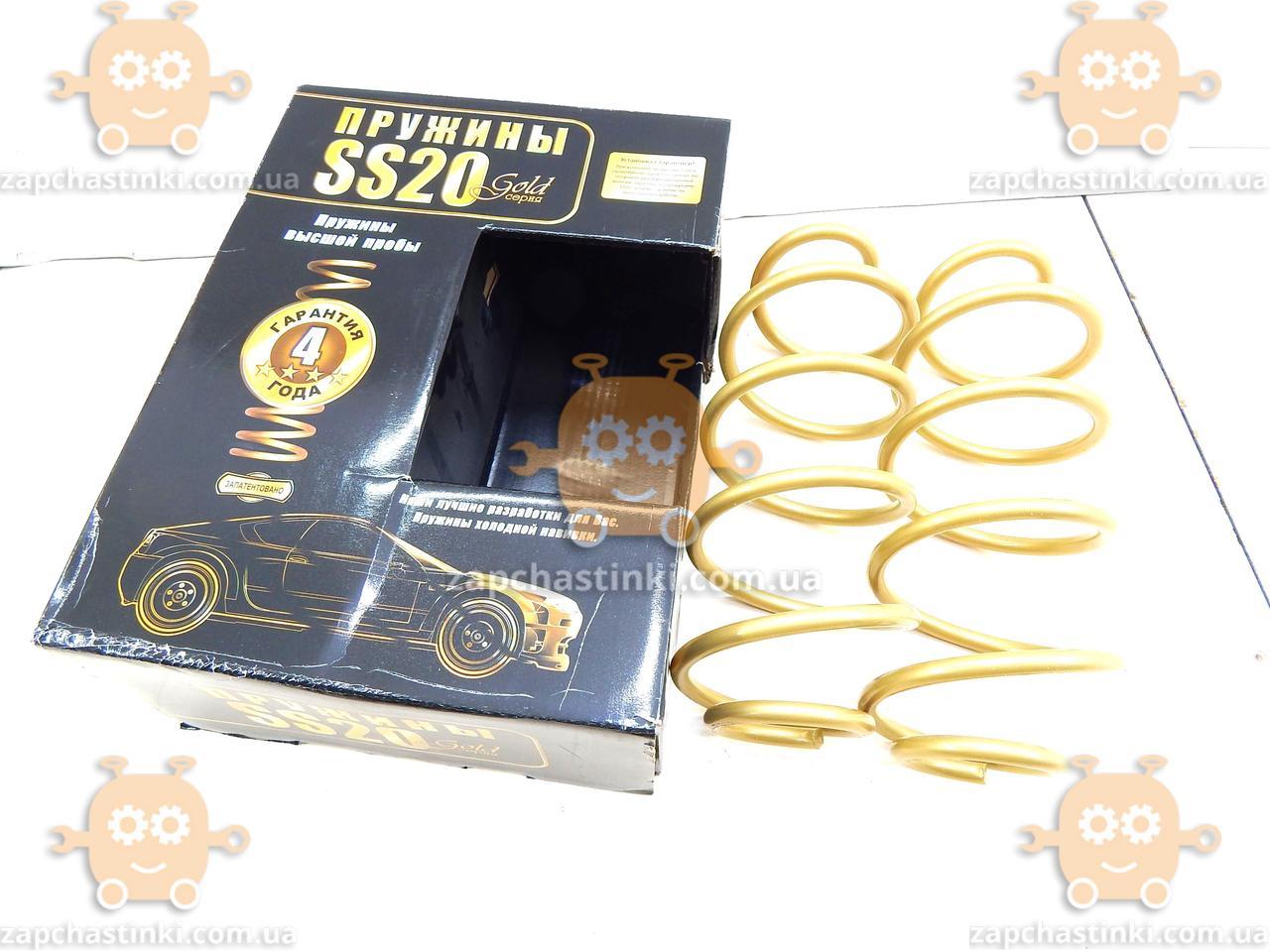 Пружина передней подвески ВАЗ 1117, 1118, 1119, 2170, 2190 (16 кл дв) Gold Progressive (2 шт) (SS-20) АГ 10743