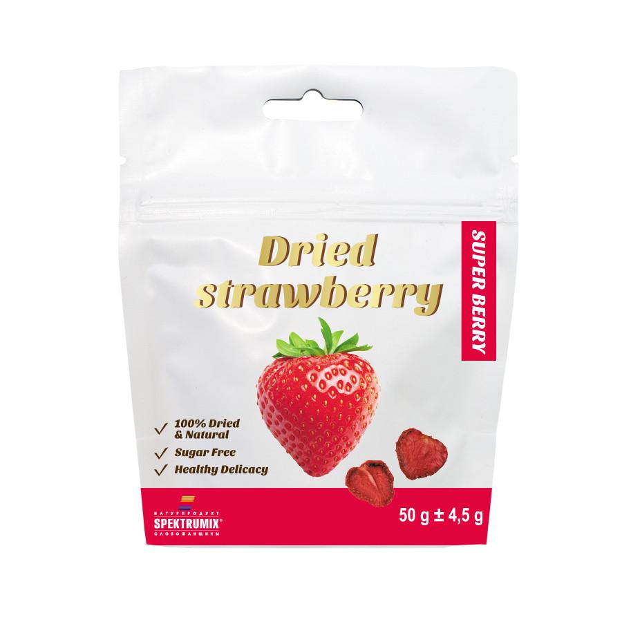 Сушена полуниця Dried Strawberry,50 г