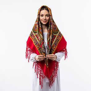 Українська хустка з тороками 120х120см
