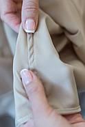Піжама Forly Комплект шовковий з брюками Nude M Бежевий SH0004-01-79_M, фото 2