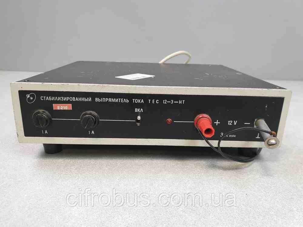 Блоки питания для бытовой техники Б/У Стабилизированный выпрямитель тока TEC 12-3-HT