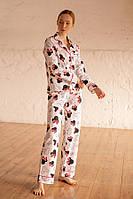 Пижама Forly Пижамный костюм из хлопка с брюками Mickey Mouse L Принт HL0010-81-69_L