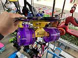 """Скейт Penny Board, с широкими светящимися колесами Пенни борд, детский , от 4 лет, расцветка """"Орхидея"""", фото 6"""