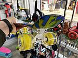 Скейт Penny Board, с широкими светящимися колесами Пенни борд, детский , от 4 лет, расцветка Солнце, фото 8