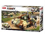 Дитячий ігровий конструктор для хлопчика SLUBAN M38-B0859 2 види танків і фігурки (725 деталей), фото 2